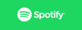 Large green Spotify button, click to import your artists from Spotify