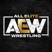 Image of All Elite Wrestling linking to their artist page, present due to the event they are headlining being at the top of this page