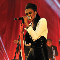 Image of Beverley Knight linking to their artist page due to link from them being at the top of the main table on this page
