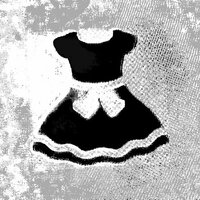Image of Black Dresses linking to their artist page due to link from them being at the top of the main table on this page