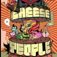 Image of Cheese People linking to their artist page due to link from them being at the top of the main table on this page