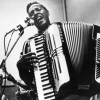 Image of Clifton Chenier linking to their artist page due to link from them being at the top of the main table on this page