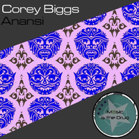 Image of Corey Biggs linking to their artist page due to link from them being at the top of the main table on this page
