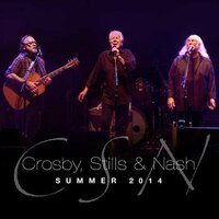 Image of Crosby, Stills and Nash linking to their artist page due to link from them being at the top of the main table on this page