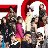 Image of E-girls linking to their artist page due to link from them being at the top of the main table on this page