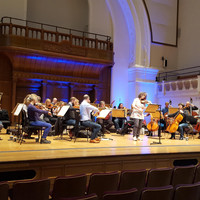 Image of English Chamber Orchestra linking to their artist page due to link from them being at the top of the main table on this page