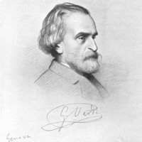 Image of Giuseppe Verdi linking to their artist page due to link from them being at the top of the main table on this page
