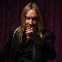 Image of Iggy Pop linking to their artist page due to link from them being at the top of the main table on this page