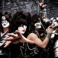 Image of Kiss linking to their artist page, present due to the event they are headlining being at the top of this page