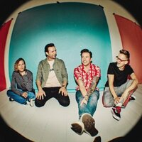 Image of McFly linking to their artist page, present due to the event they are headlining being at the top of this page