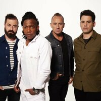 Image of Newsboys linking to their artist page, present due to the event they are headlining being at the top of this page