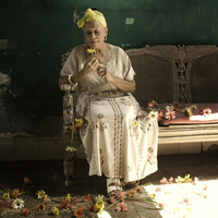 Image of Omara Portuondo linking to their artist page due to link from them being at the top of the main table on this page