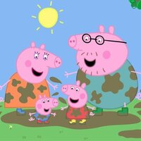 Image of Peppa Pig linking to their artist page, present due to the event they are headlining being at the top of this page