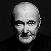 Image of Phil Collins linking to their artist page due to link from them being at the top of the main table on this page