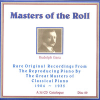 Avatar for the related artist Rudolph Ganz