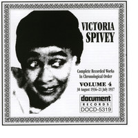 Image of Victoria Spivey linking to their artist page due to link from them being at the top of the main table on this page