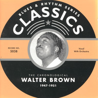 Image of Walter Brown linking to their artist page due to link from them being at the top of the main table on this page