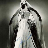 Image of Yma Sumac linking to their artist page due to link from them being at the top of the main table on this page