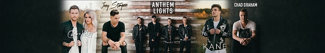 Large banner image of Anthem Lights headlining the page