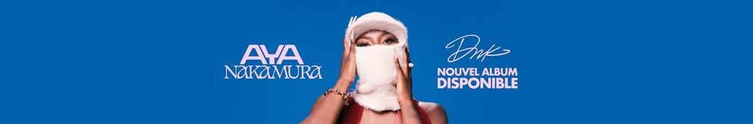 Large banner image of Aya Nakamura headlining the page