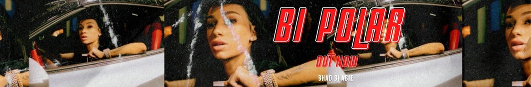 Large banner image of Bhad Bhabie headlining the page