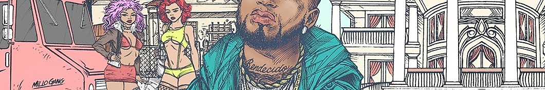 Large banner image of Bryant Myers headlining the page as they are the first listed artist for the Latin genre