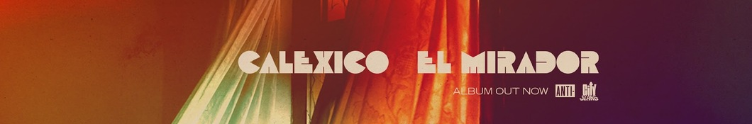 Large banner image of Calexico linking to their artist page due to link from them being at the top of the main table on this page