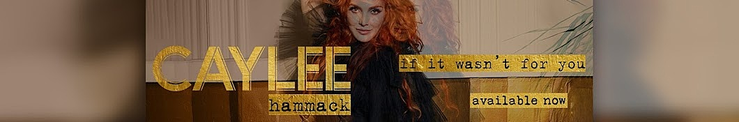Large banner image of Caylee Hammack headlining the page