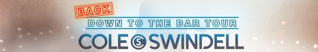 Large banner image of Cole Swindell headlining the page