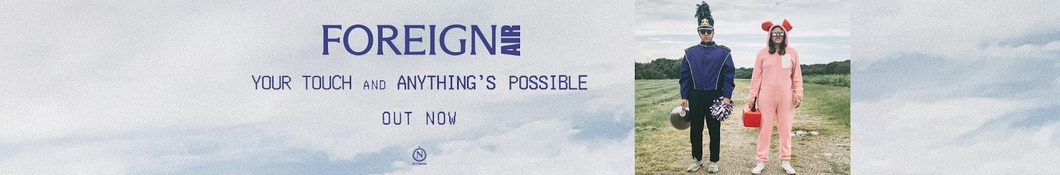 Large banner image of Foreign Air linking to their artist page due to them being the most commonly displayed artist on this title page