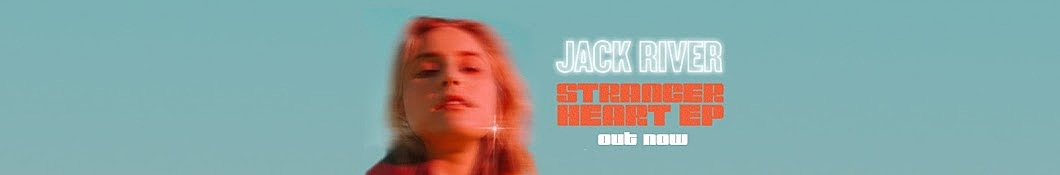 Large banner image of Jack River headlining the page