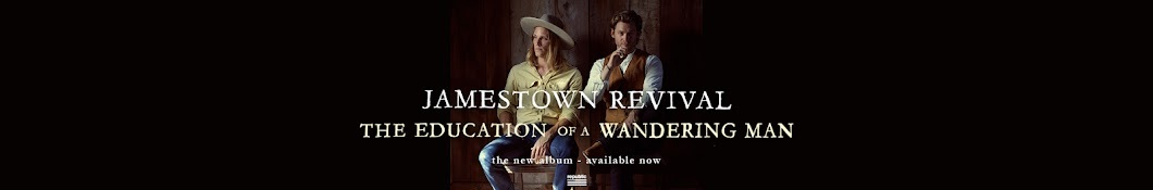 Large banner image of Jamestown Revival headlining the page
