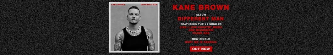 Large banner image of Kane Brown headlining the page