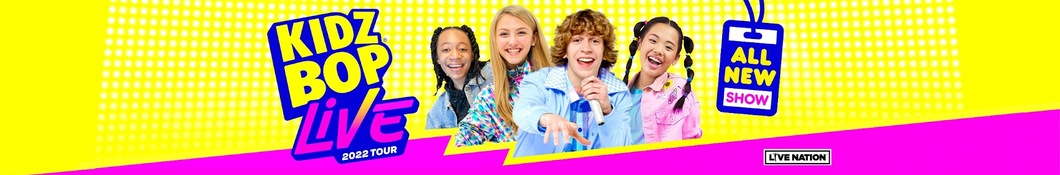 Large banner image of Kidz Bop Kids linking to their artist page
