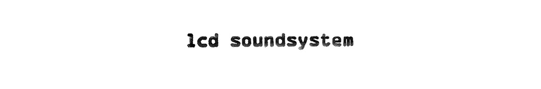 Large banner image of LCD Soundsystem linking to their artist page due to them being the most commonly displayed artist on this title page