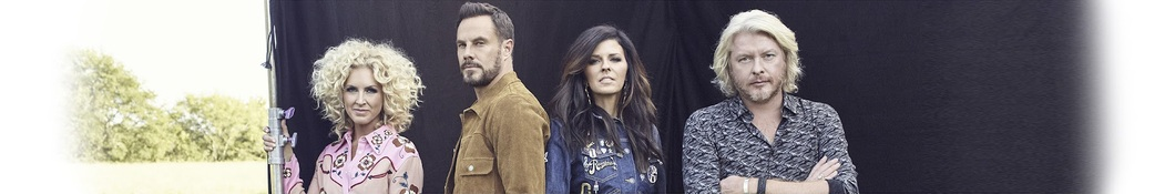 Large banner image of Little Big Town headlining the page