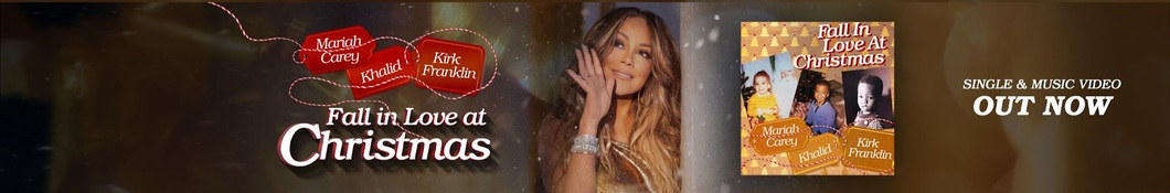 Large banner image of Mariah Carey linking to their artist page due to link from them being at the top of the main table on this page