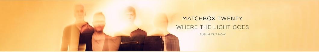 Large banner image of Matchbox Twenty headlining the page