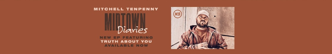 Large banner image of Mitchell Tenpenny linking to their artist page due to them being the most commonly displayed artist on this title page