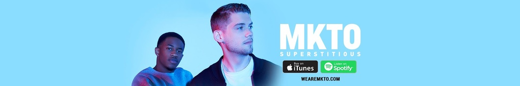Large banner image of MKTO linking to their artist page due to them being the most commonly displayed artist on this title page