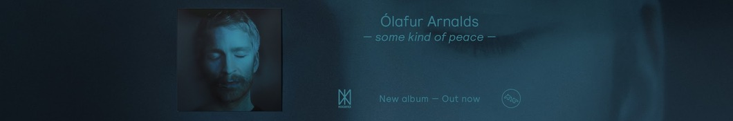 Large banner image of Ólafur Arnalds linking to their artist page due to them being the most commonly displayed artist on this title page