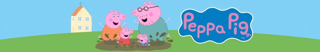 Large banner image of Peppa Pig linking to their artist page, present due to the event they are headlining being at the top of this page