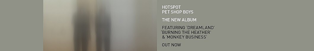 Large banner image of Pet Shop Boys headlining the page