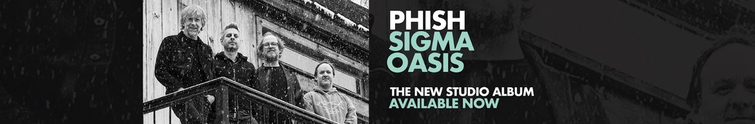 Large banner image of Phish linking to their artist page