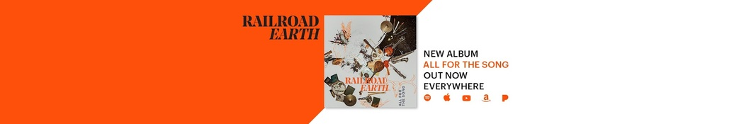 Large banner image of Railroad Earth linking to their artist page due to link from them being at the top of the main table on this page