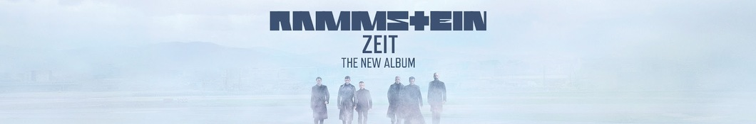 Large banner image of Rammstein headlining the page