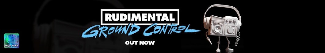Large banner image of Rudimental linking to their artist page due to them being the most commonly displayed artist on this title page