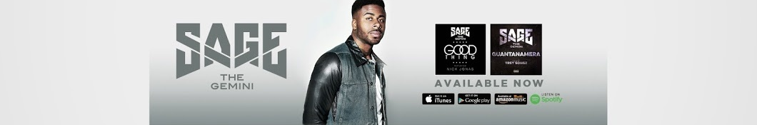 Large banner image of Sage the Gemini linking to their artist page due to link from them being at the top of the main table on this page