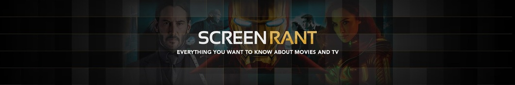 Large banner image of Screen Rant linking to their artist page due to link from them being at the top of the main table on this page
