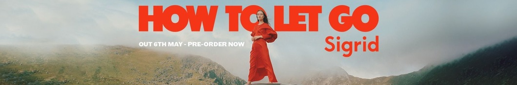 Large banner image of Sigrid linking to their artist page due to them being the most commonly displayed artist on this title page